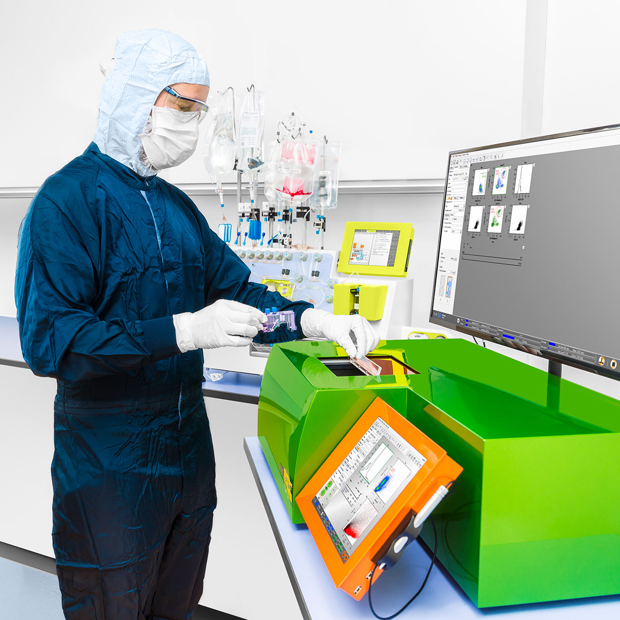 <h3>GMP-compliant cell sorting</h3>