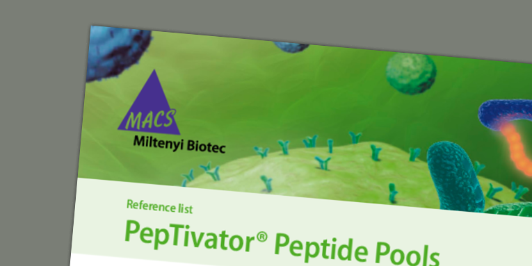 PepTivator Peptide Pools - selected references
