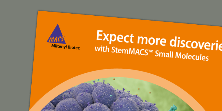 Expect more discoveries with StemMACS™ Small Molecules