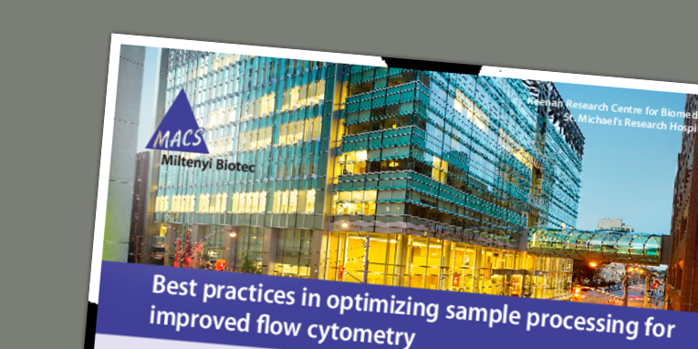 Best practices in optimizing sample processing for improved flow cytometry. Spring C. (2017)