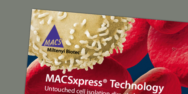 MACSxpress® Isolation Kits - fastest cell separation from whole blood
