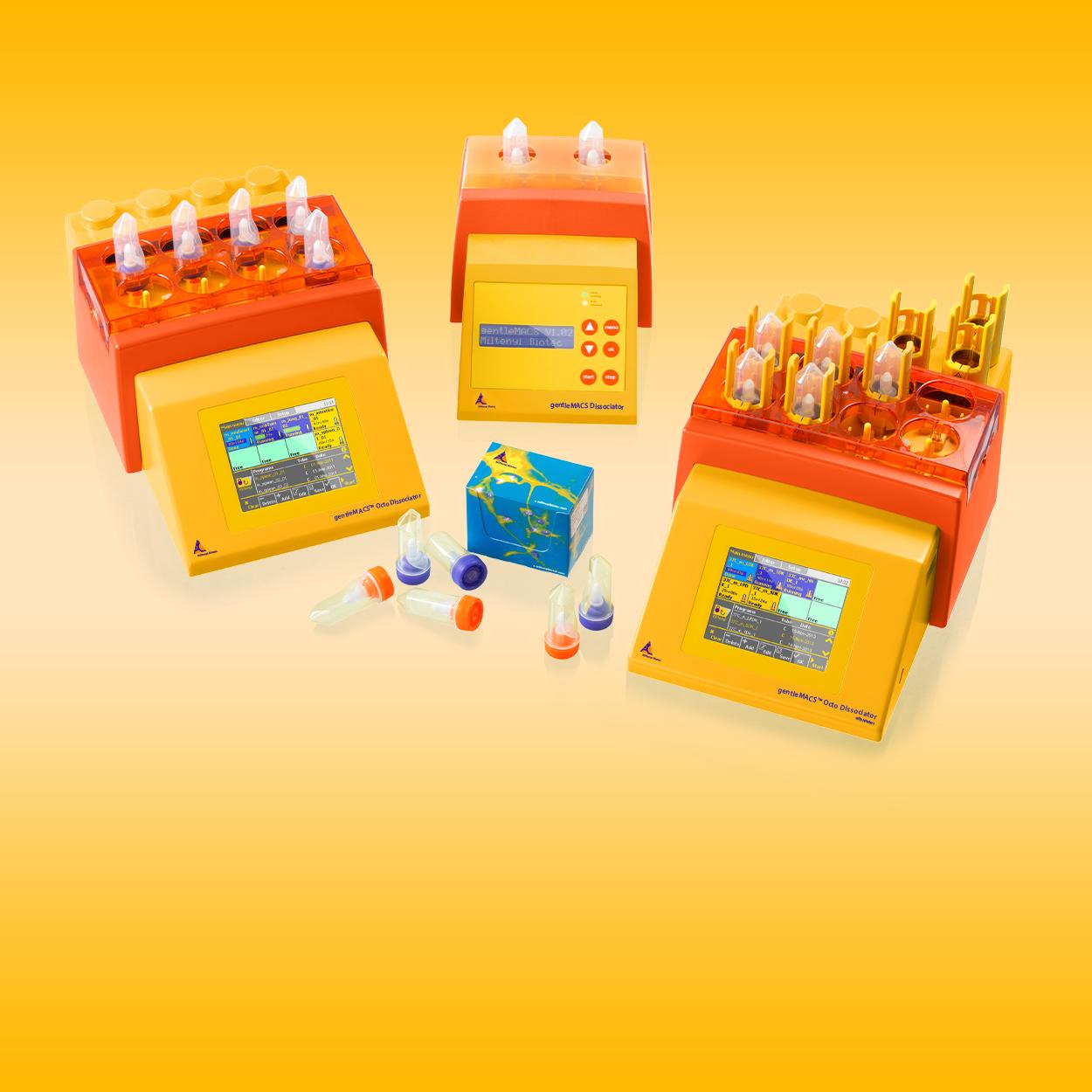 Tissue dissociators and tubes