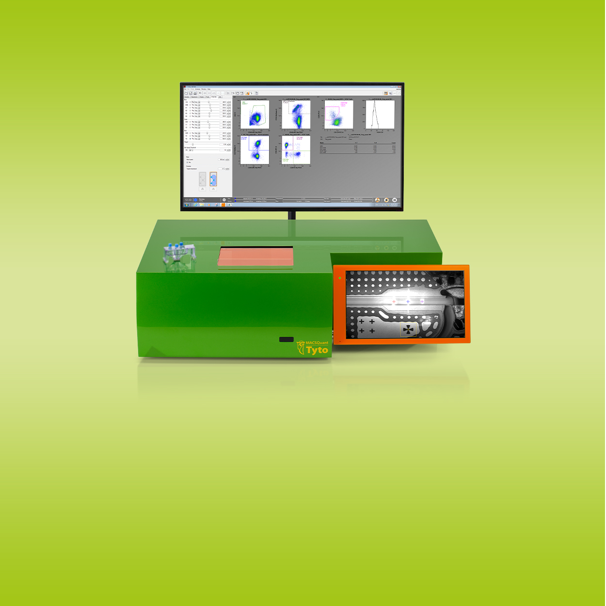 <h3>MACSQuant Tyto Cell Sorter</h3>