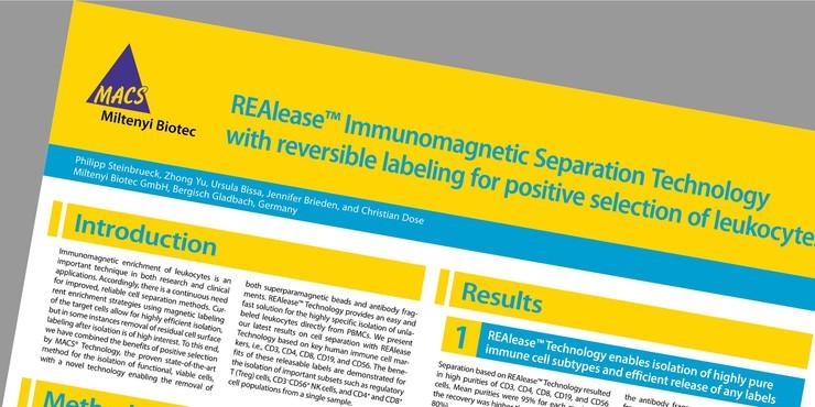 REAlease Fluorochrome Technology - Antibodies - MACS Flow