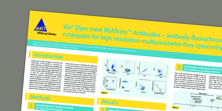 Vio® Dyes meet REAfinity™ Antibodies – antibody-fluorochromeconjugates for high-resolution