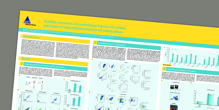 Workflow automation and parallelization improves the isolation and analysis of tumor-infiltrating