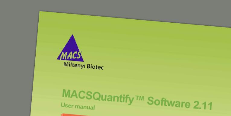 MACSQuantify™ Software 2.11 User manual