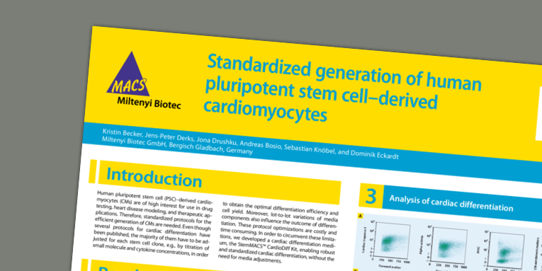ISSCR 2019_Standardized generation of human pluripotent stem cell-derived cardiomyocytes