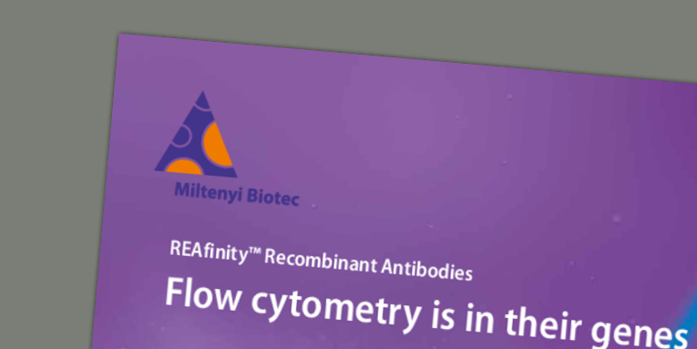 REAfinity™ Recombinant Antibodies - Flow cytometry is in their genes