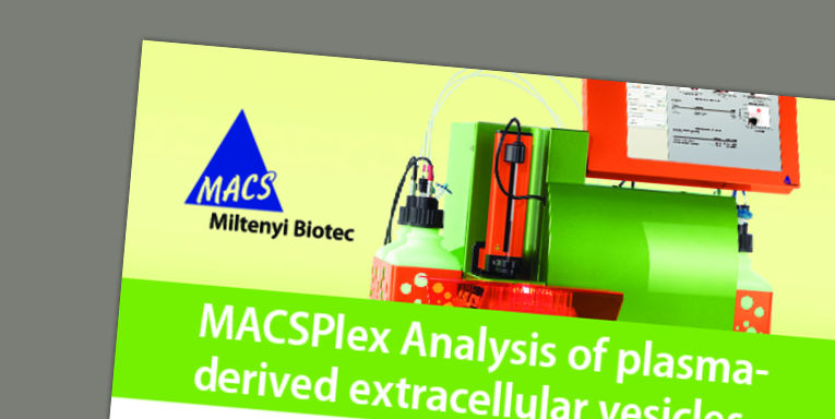 MACSPlex Analysis of plasma-derived extracellular vesicles