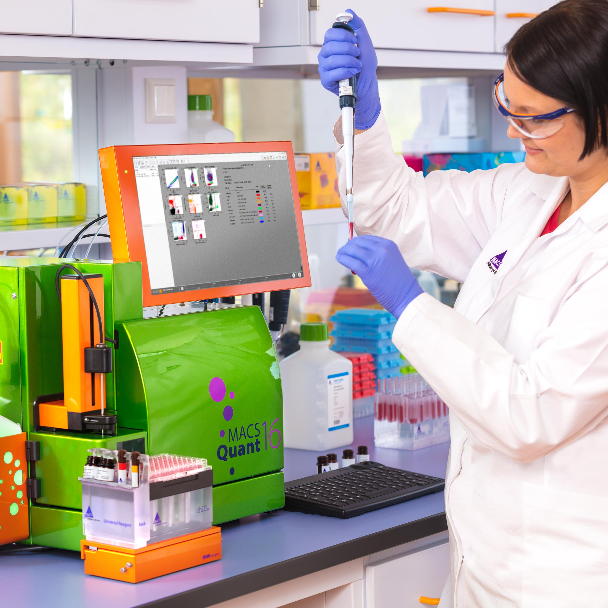 MACSQuant® Analyzer 16 – Colorful new possibilities in automated flow cytometry