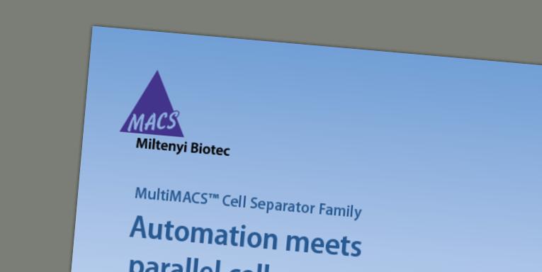 MultiMACS Cell Separator Family Brochure