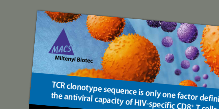 TCR clonotype sequence is only one factor defining the antiviral capacity of HIV-specific CD8+ T cells