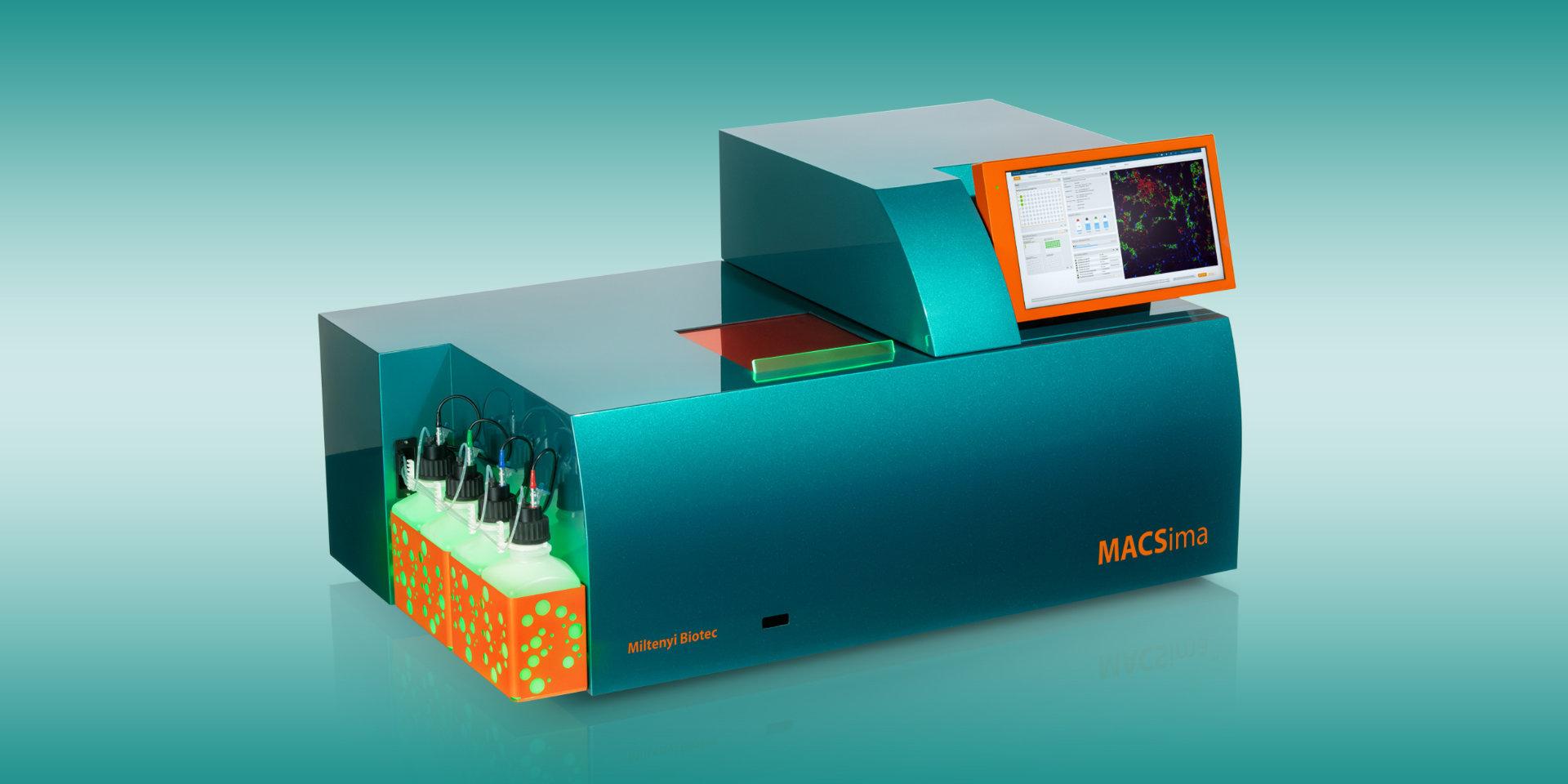 MACSIMA Device Front