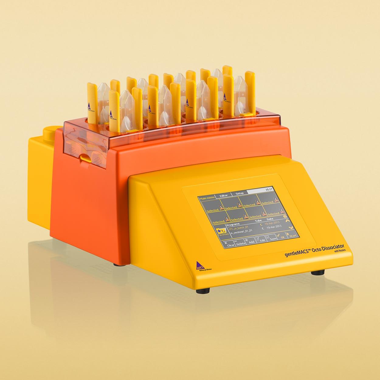 gentleMACS™ Octo Dissociator with Heaters